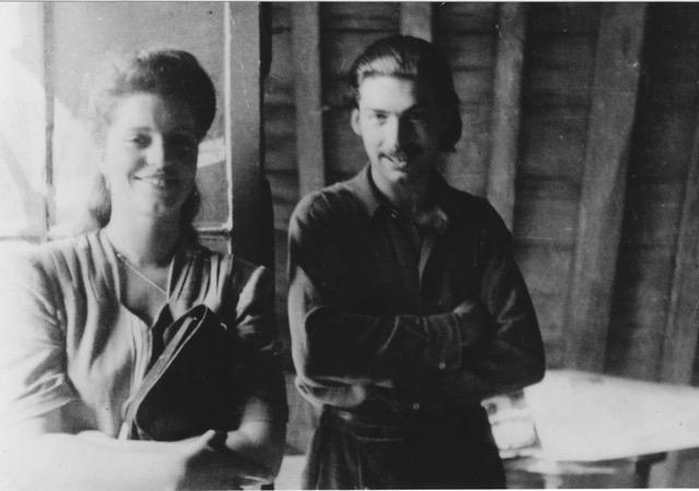 Mia Visser and Carel Appel